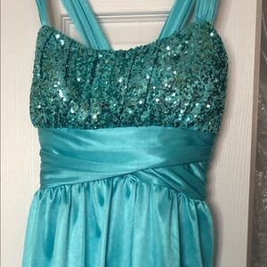 Beautiful Teal Dress!